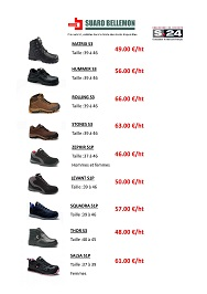 S24 chaussures