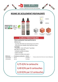 Resine scellement Xperty