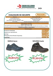 Parade chaussures janvier 2020